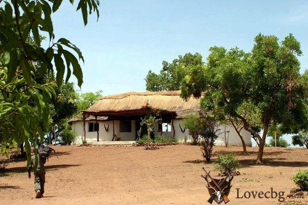 Ловният лагер Faro East в Камерун